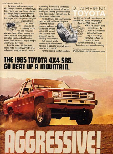 Toyota Truck Ads Chin On The Tank Motorcycle Stuff