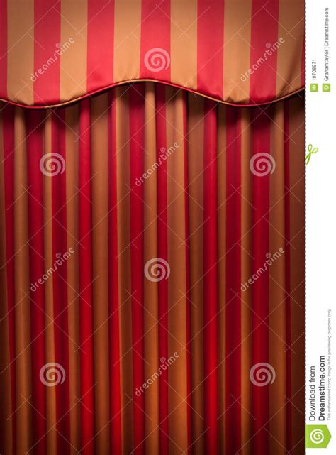 red and gold striped curtains striped red and gold curtains stock image image 10708971