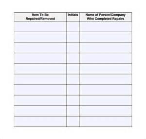 free maintenance log book template sle repair log template 9 free documents in pdf excel