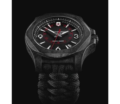 Swiss Army X victorinox i n o x carbon in black 43 mm 241776