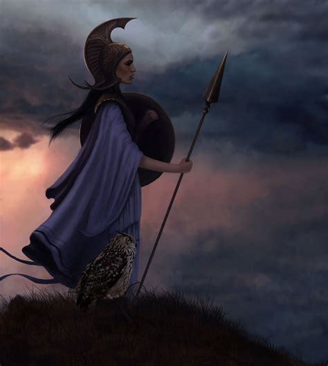 did athena get along with the other gods athena minerva greek goddess of wisdom and war