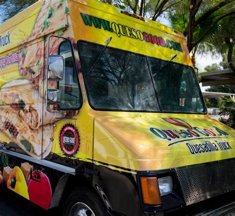 queso good quesadilla truck food trucks  phoenix az