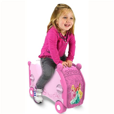 Vb Backpack 683 3in1 1 disney princess ride on box luggage suitcase new vrum