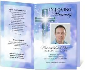 Funeral program templates sample obituary funeral program templates