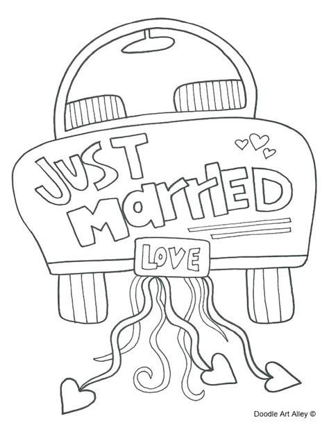 Wedding Coloring Book Printable