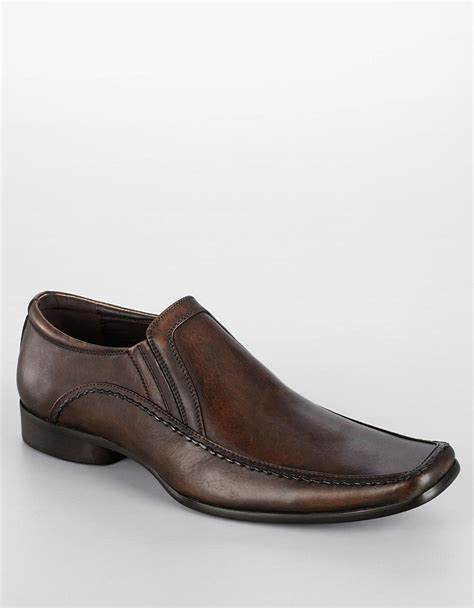 kenneth cole reaction loafer kenneth cole reaction key note leather loafers in brown