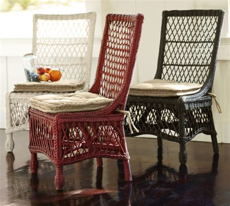Dining Chairs Pottery Barn Which Beats The Price Of The Delaney Rattan Chairs At Pottery Barn Also On Sale For 179 00
