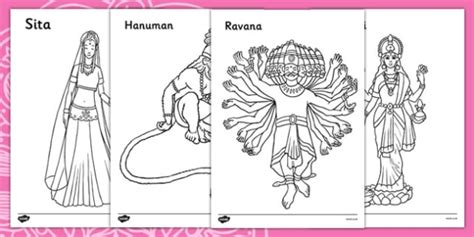 diwali puppets templates diwali colouring sheets diwali religion hindu activity