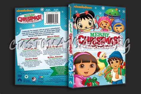 merry christmas dvd cover dvd covers labels  customaniacs id