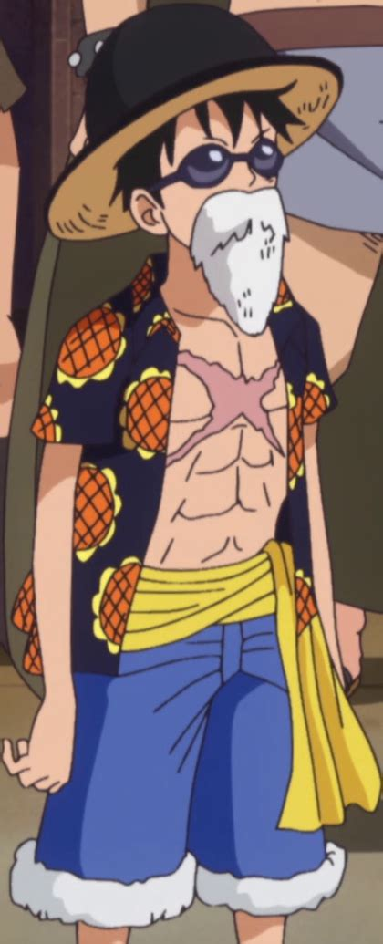 image luffy disguise dressrosa png the one wiki