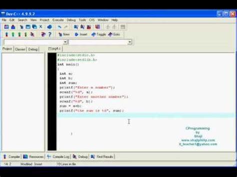 float format c programming lesson 4 data types int char float