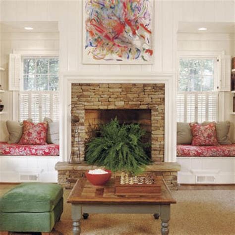 fireplace seating ideas 18 window seat design and interior decor ideas beautiful