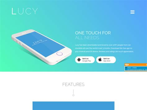 13 Best App Landing Page Bootstrap Templates In 2016 Freemium Download Bootstrap App Landing Page Template