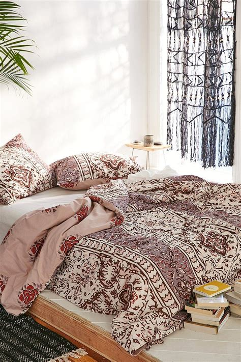 7 Gorgeous Duvets From Outfitters by Magical Thinking Boho Stripe Duvet Cover