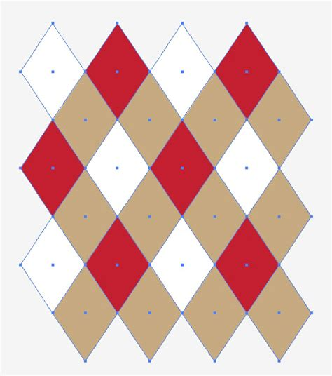 pattern color scheme quick tip make a seamless argyle pattern