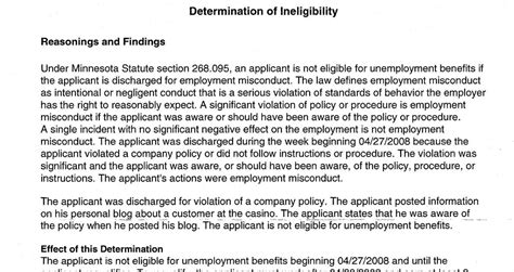 unemployment denied w relief kevin 55404 initial denial of unemployment