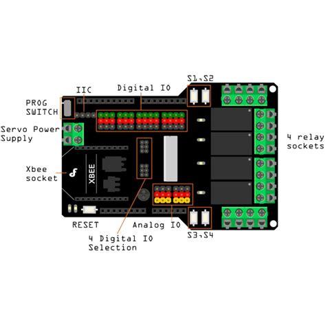 Arduino Relay Shield 4 Channel dfrobot 4 channel relay arduino shield