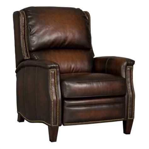 Plush Leather by Furniture Seven Seas Plush Leather Recliner In