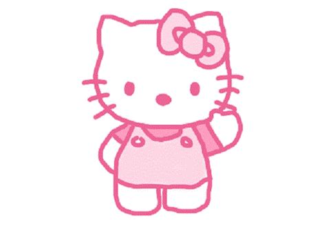 wallpaper hello kitty pink bergerak hello kitty isn t a cat we called sanrio to find out