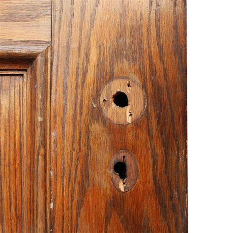 Solid Wood Doors For Sale by Handsome Antique 36 Solid Wood Door With Recessed Panels