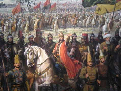 Byzantine Ottoman Wars Ottoman Sultan Muhammed At The Siege Of Constantinople