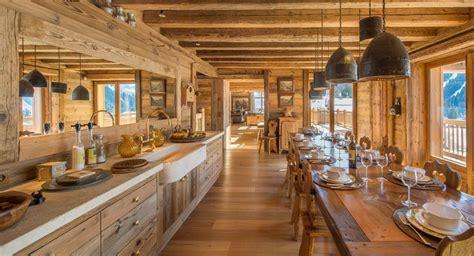 Cuisine Style Chalet Montagne by Un Chalet De R 234 Ve En Plein Coeur Des Alpes
