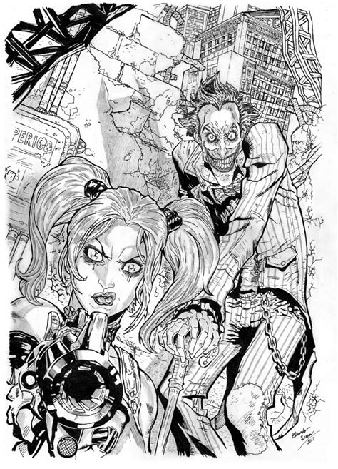 libro grimms nightmares from the harley quinn and joker by eduardoleon on