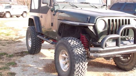 jeep lifted 6 inches lifted jeep wrangler 6 inch skyjacker 35 inch tires