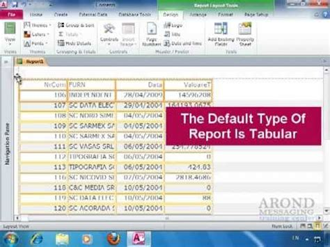 report layout view in access 2010 hqdefault jpg