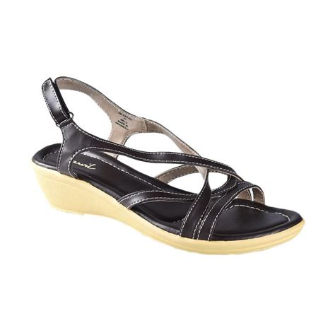 jual carvil valent 03 sandal heels wanita brown