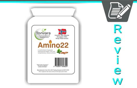 Modicare Detox Tablets by Amino22 By Tonvara Review Tissue Extract Supplement