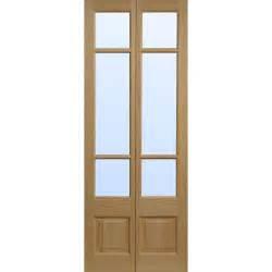 Bi Fold Doors Interior Elsdon Clear Pine Glazed Bifold Interior Door Next Day Delivery Elsdon Clear Pine Glazed