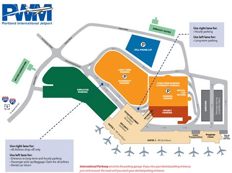 jetport map portland international jetport