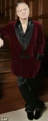 Hugh Hefner Shares His Fashion Tips by Kourtney Disick S Hugh Hefner Silk