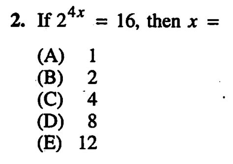 Sat Section 4 Answers by Everything You Need To About Exponents For The Sat
