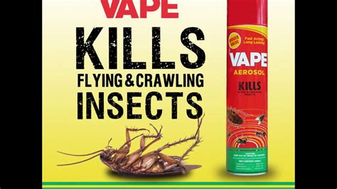 Vape Aerosol vape aerosol kills flying crawling insects