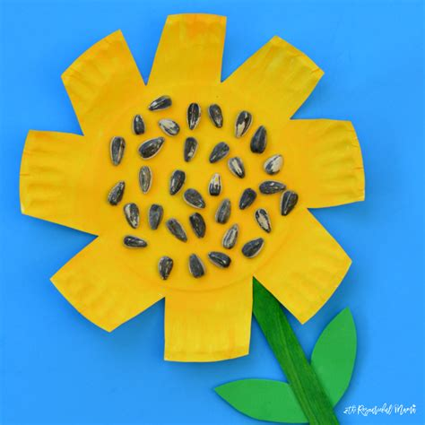 paper plate sunflower craft paper plate sunflower craft the resourceful