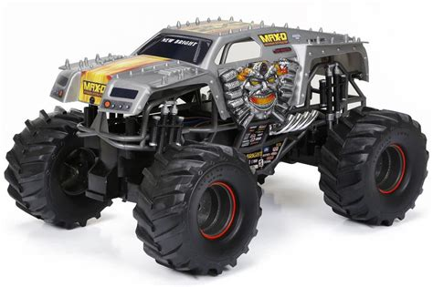 remote control monster jam trucks new bright monster jam 1 10 scale remote control vehicle
