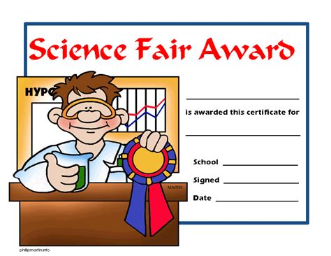 science fair certificate template white station scroll the science of success