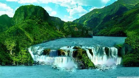 S Basavaraj Ireland   Waterfall Photograph by S BasavaRaj
