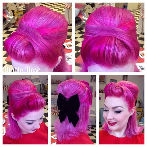 Easy Rockabilly Hairstyles by 860 Best Rockabilly Pin Up Hair And Makeup Images On