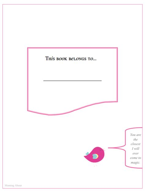 guest blogger amanda free printable baby book pages