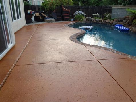 Concrete Stain Colors For Patios by How To Apply Multi Color Concrete Stain 8 Steps With