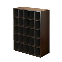 Closetmaid Storage Cubbies Closet Shoe Organizer Storage Cabinet Cube 25 Pair Floor