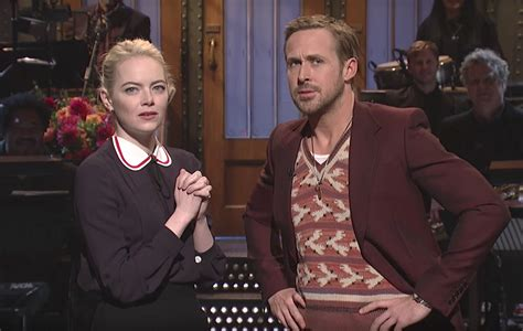 emma stone ryan gosling interview watch ryan gosling and emma stone stage a la la land