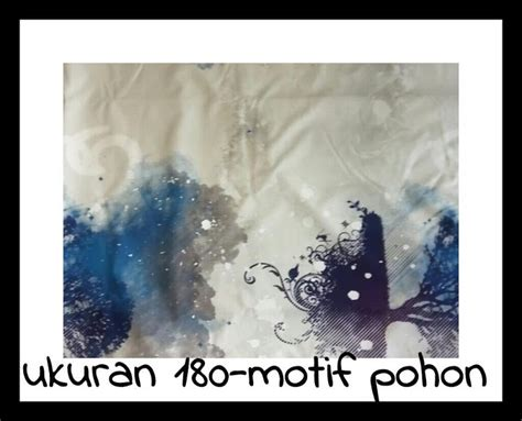 Sprei Anti Air Motif 160x200 Water Proof Waterproof Anti Omp T1310 1 snowy sprei waterproof