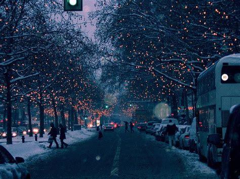 christmas snow photography winter people lights light