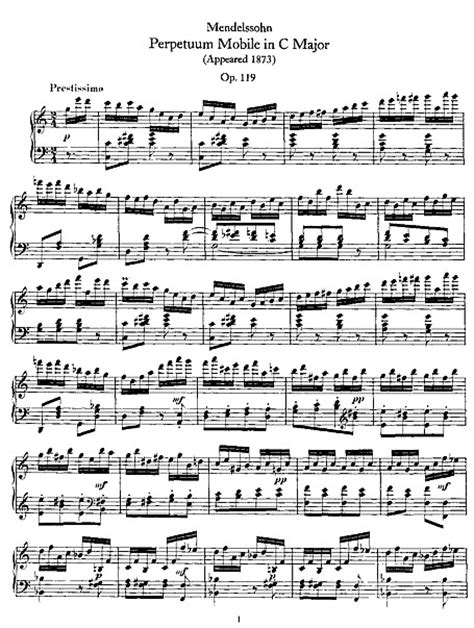partituras de piano gratis perpetuum mobile piano partituras cantorion