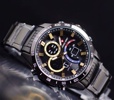 jual  sellernew jam tangan pria sport swiss