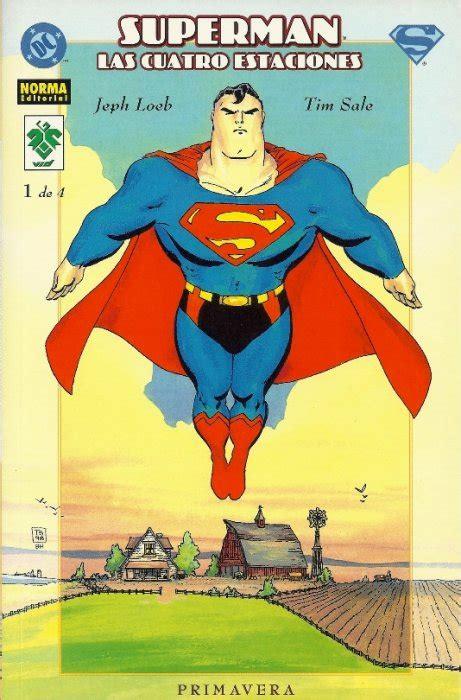 libro superman for all seasons superman 2001 norma vid las cuatro estaciones 1 ficha de n 250 mero en tebeosfera